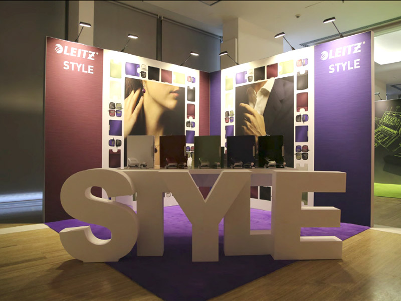 Leitz SYLE Messestand