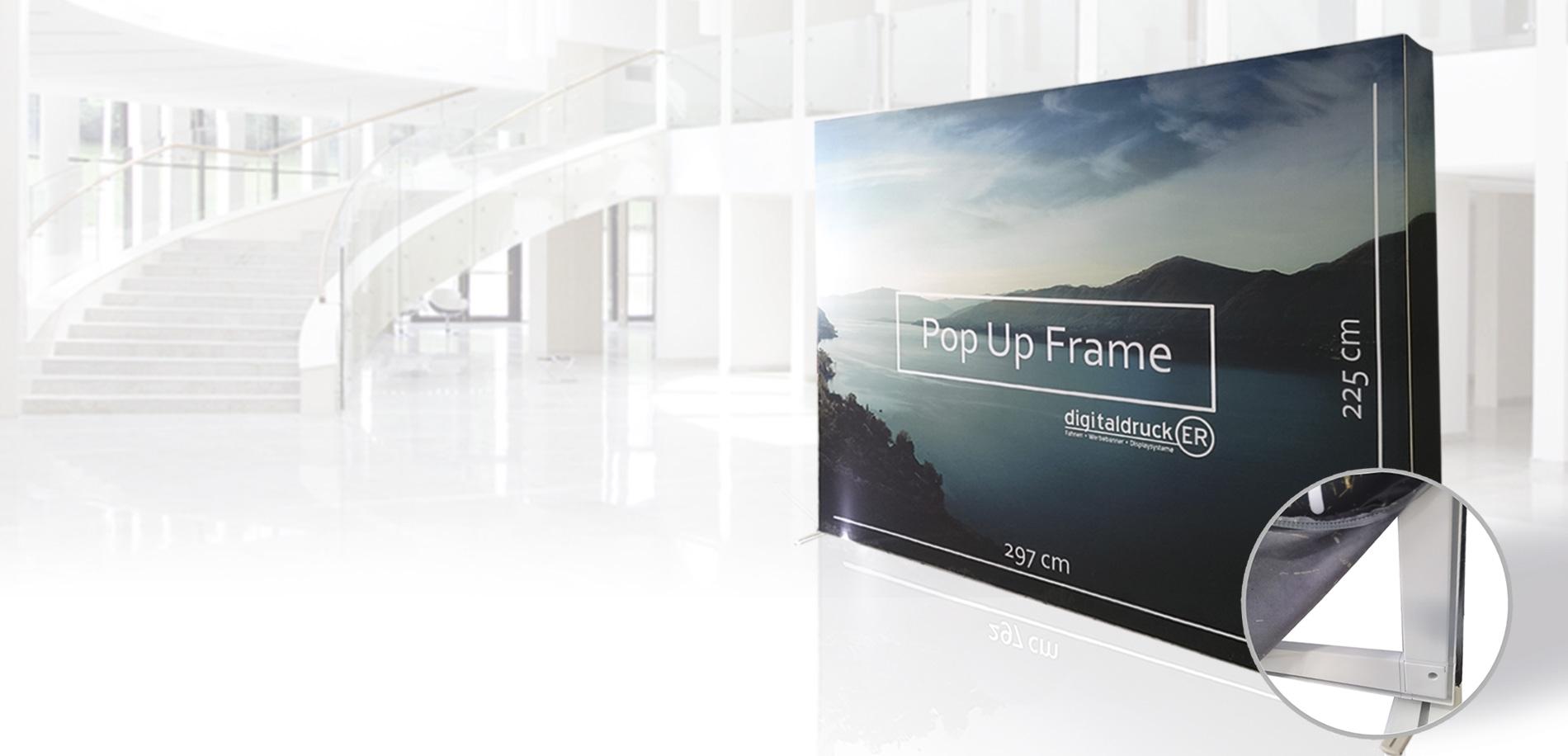 Pop-Up Frame